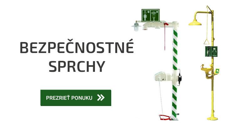Bezpečnostné sprchy | Saprem.sk