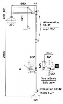 CA4230 CA4230SS (s nerez hlavicou)