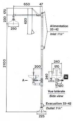 CA4260 CA4260SS (s nerez hlavicou)