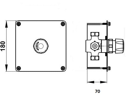 P35945 (plastová hlavica), P35941(chrom hlavica)