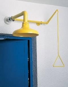 Celková bezpečnostná sprcha celotelová CA1140 s ABS plast hlavicou nad dverami