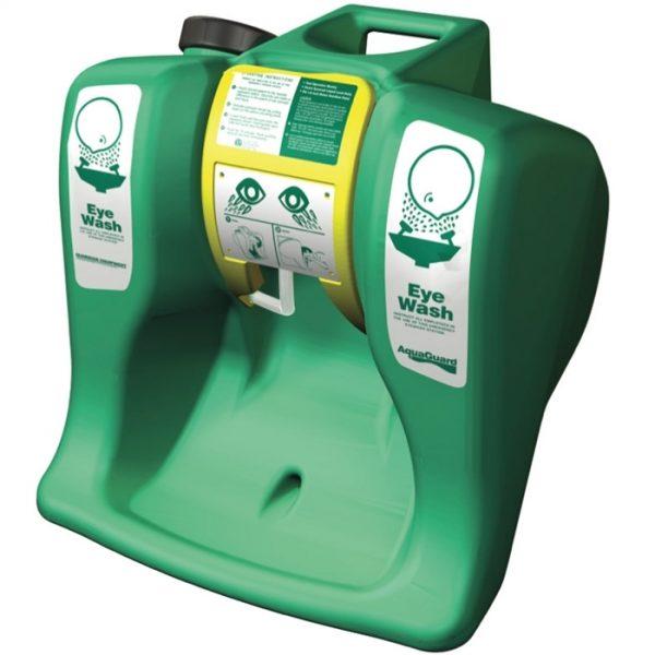 Prenosná zelená očná bezpečnostná sprcha G1540