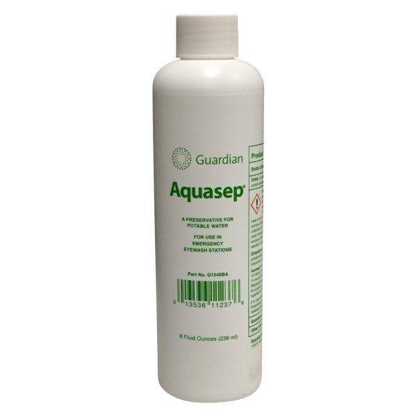 biela nádoba s antiseptikom Aquasep G1540-BA