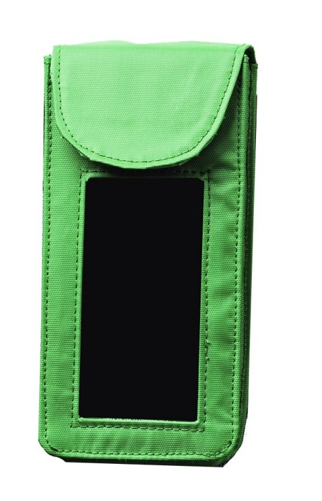 prázdne zelené puzdro na opasok 7203 - holster pre očnú vodu 235ml
