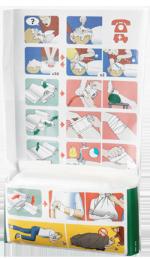 ilustrácia so znázornením možného použitia zastavovača krvácania 4v1 Cederroth
