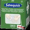 krabička Salvequick na dezinfekciu rán so sterilnými obrúskami